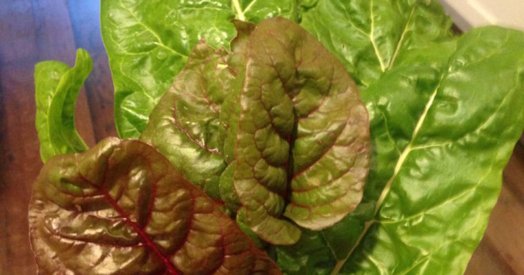 What do I do with……Swiss Chard?