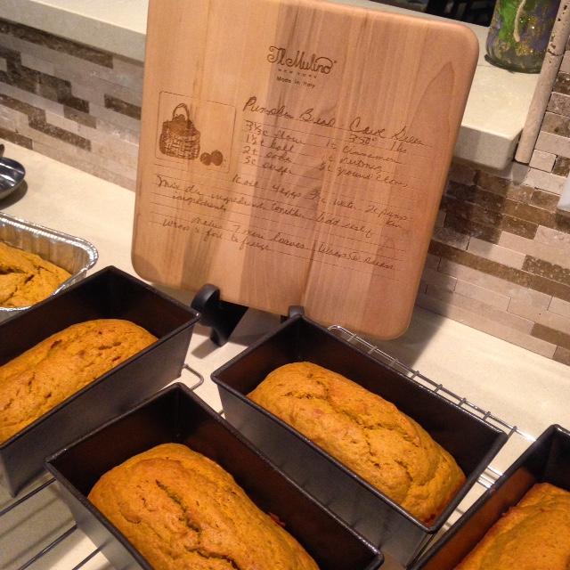 Mom's Pumpkin Bread
